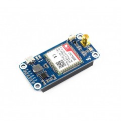 NB-IoT / eMTC / EDGE / GPRS / GNSS HAT for Raspberry Pi (WS-14865)   SIM7000E NB-IoT HAT