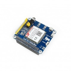 4G / 3G / 2G / GSM / GPRS / GNSS HAT for Raspberry Pi, LTE CAT4 (WS-14952)  SIM7600E 4G HAT