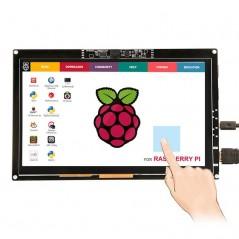7inch Display 1024x600 Cap.Touch Screen 720P+Camera for Raspberry Pi/Mac/Windows (ER-RPD375105T)