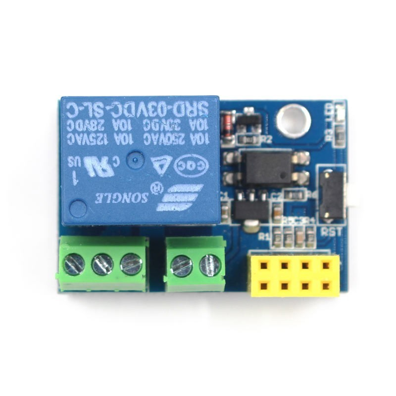 ESP8266 ESP-01/ESP-01S Relay WiFi Smart Control Module for  Arduino/Raspberry Pi (ER-ESP11002R)