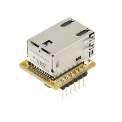 WIZ850io compact-sized network module that includes W5500