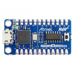 ATTINY104-XNANO (Microchip) for evaluating ATtiny102/ATtiny104 microcontrollers