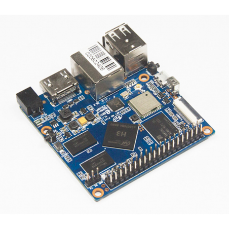 BPI-M2+ (SINOVOIP) Quad-core 1.2GHz A7,1GB,8GB eMMC,WIFI,BT