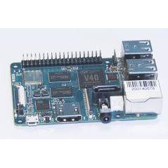 BPI-M2 BERRY (SINOVOIP) Quad Core ARM Cortex A7 CPU V40, 1GB, WIFI, BT, SATA