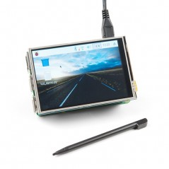 3.5inch RPi LCD (A) (Waveshare) 320×480  Touch Screen TFT LCD for Raspberry Pi
