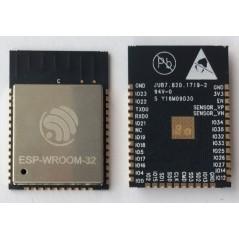 ESP-WROOM-32 (ESPRESSIF) FTP, HTTP, IBM MQTT, IPv4,IPv6,SSL, TCP, UDP, SMD, 4MB