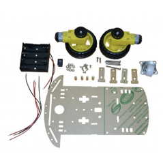 ROBOT-2WDL-KIT (OLIMEX) ROBOT TWO WHEEL KIT