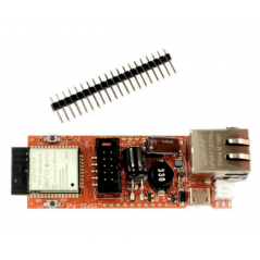 ESP32-POE (Olimex) ESP32-POE IOT DEVELOPMENT BOARD WITH 100MB ETHERNET, POWER OVER ETHERNET, WIFI, BLE, PROGRAMMER