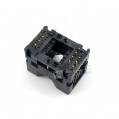 OTS-16-1.27-04, Test & Burn-in Socket (WS-6035) SOP8-SOP16, SO8-SO16, SOIC8-SOIC16