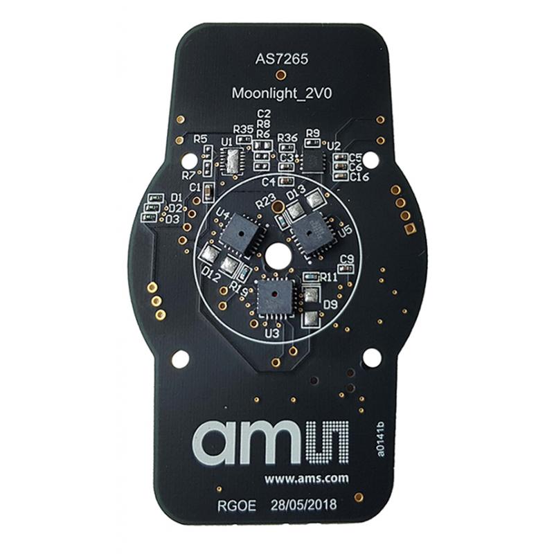 AS7265X DEMO KIT V3 0 (ams) Multispectral Chipset Evaluation Kit - Smart  Spectral Sensor