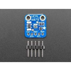 Adafruit VEML6075 UVA UVB and UV Index Sensor Breakout (AF-3964)