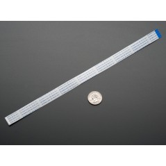 "Flex Cable for Raspberry Pi Camera or Display - 300mm / 12"" (AF-1648)"