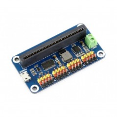Servo Driver for micro:bit, 16-Channel, 12-bit, I2C (WS-15072)