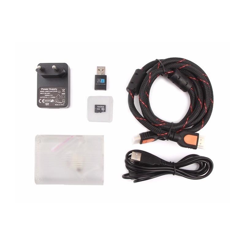 Raspberry Pi 3 Media Center Kit - Europe (SE-110060466)
