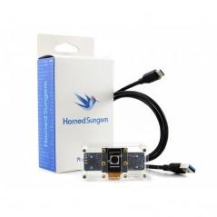 Horned Sungem AI Vision Kit, USB Connectivity, Plug-and-AI (SE-15394) Intel Movidius MA245X