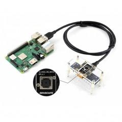 Horned Sungem AI Vision Kit, USB Connectivity, Plug-and-AI (WS-15394) Intel Movidius MA245X