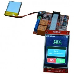 MOD-LCD2.8RTP (Olimex) COLOR TFT LCD 320x240 TOUCH PANEL, UEXT CONNECTOR