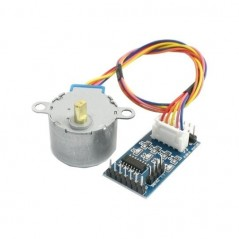 SM-5VDC-DRV (Olimex) STEPPER MOTOR 5V 28mm WITH GEAR AND DRIVER