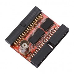 iCE40-DAC (Olimex) MODULE WITH FAST DAC WITH 100MHZ CLOCK