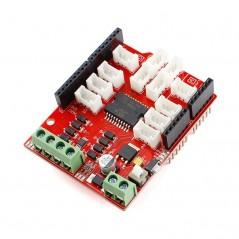 Crowtail- Motor Base Shield 2.0 (ER-CT0069MBS) Motor 6~15V, max.Current 2A