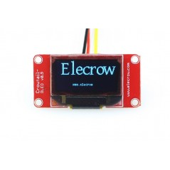 Crowtail- OLED (ER-CT0025OD) 128x64, Bule/Black, I2C, -20°C~70°C
