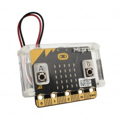 MI:pro Protector Case for the BBC micro:bit - Clear (Kitronik)