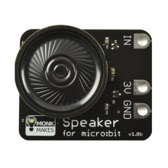 Powered speaker board for micro:bit (Kitronik)