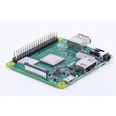 RASPBERRY PI 3 MODEL A+ BCM2837B0, 512MB, WIFI 2.4/5GHz, BLE4.2, A+ board format