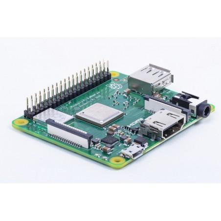 RASPBERRY PI 3 MODEL A+ 64bit BCM2837B0, 512MB, WIFI 2.4/5GHz, BLE4.2, A+ board format