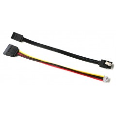 SATA Data and Power Cable (Hardkernel) G181116811613 for ODROID-H2 Case 1,3,4 connect HDD/SSD
