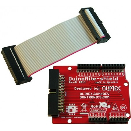 DUINOMITE-SHIELD ARDUINO LIKE SHIELD FOR DUINOMITE 26 PIN CONNECTOR