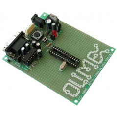 PIC-P28-20MHZ EVELOPMENT PROTOTYPE BOARD FOR PIC 28PIN