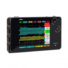 DS212- Portable 2-CH Open Source Oscilloscope (ER-DTD27016O)