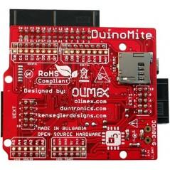 DUINOMITE (OLIMEX MAXIMITE BASIC PC, ARDUINO LAYOUT)