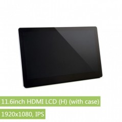 11.6inch HDMI LCD (H) (with case), 1920x1080, IPS (WS-15599)