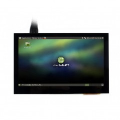 4.3inch HDMI LCD (B), 800x480, IPS, supports various systems, capacitive touch (WS-15932)