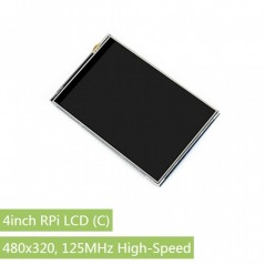 4inch RPi LCD (C), 480x320, 125MHz High-Speed SPI (WS-16099)