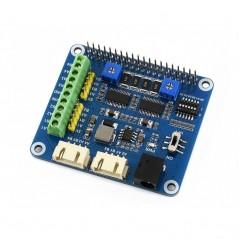 Stepper Motor HAT for Raspberry Pi, Drives Two Stepper Motors (WS-15669)