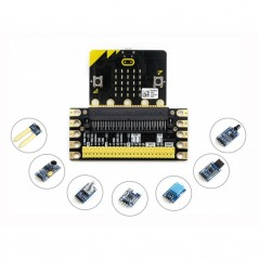 BBC micro:bit sense pack, with edge breakout, several sensors (WS-15837)