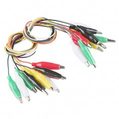 Alligator Test Leads - Multicolored  10Pack  (SF-PRT-12978)