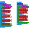 Klip Halo V2.0 with 2x AA Battery Holder (KIT-5648-BAT) Kitronik