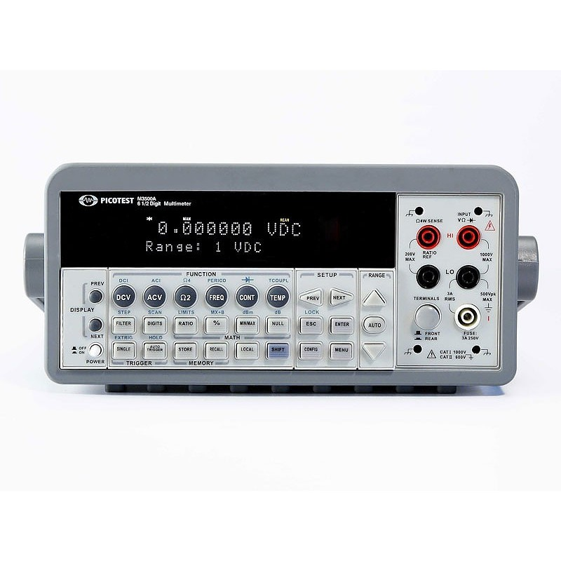M3500A (Picotest)  6 1/2 Digits standard DMM