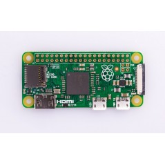Raspberry Pi Zero H with header (1GHz CPU, 512MB , HDMI,USB)