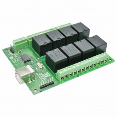 8 Channel USB Relay Module (NU-RL80001)