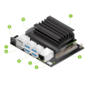 Jetson Nano Developer Kit (NVIDIA) 128-core Maxwell, Quad-core ARM A57 1.43GHz