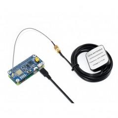 L76X Multi-GNSS HAT for Raspberry Pi, GPS, BDS, QZSS (WS-16193)