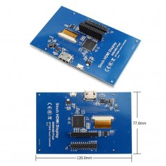HDMI 5 Inch 800x480 TFT Display with Backlight Control (ER-RPD19048A)