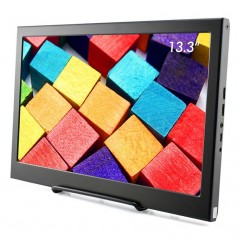 13.3Inch IPS 1920x1080 Dual HDMI+Speakers for RPi/XBOX/Windows  (ER-AUS50025E)