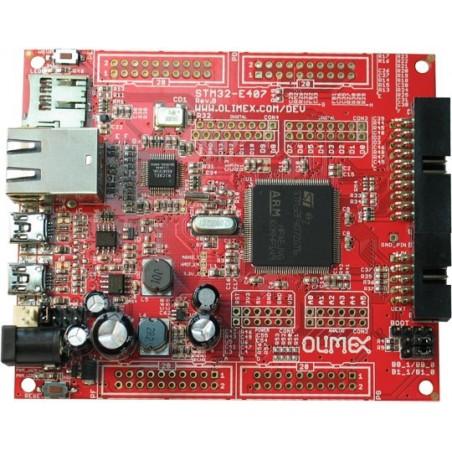 STM32-E407 (DEV FOR STM32F407ZGT6 CORTEX-M4 WITH ETHERNET, USB HOST/OTG)