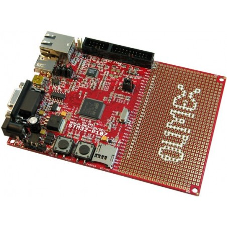 STM32-P107 (PROTOTYPE BOARD FOR STM32F107 CORTEX-M3 MCTR)